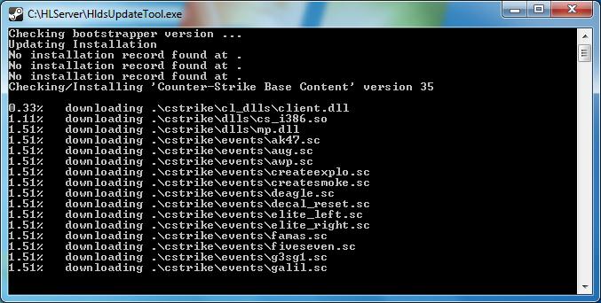 Как создать в кс сервер без скачивания
